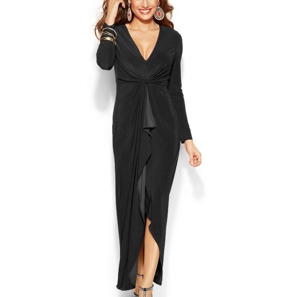7e0885742a6b8 Thalia Sodi Long-Sleeve High-Low Maxi Dress NWT NWT
